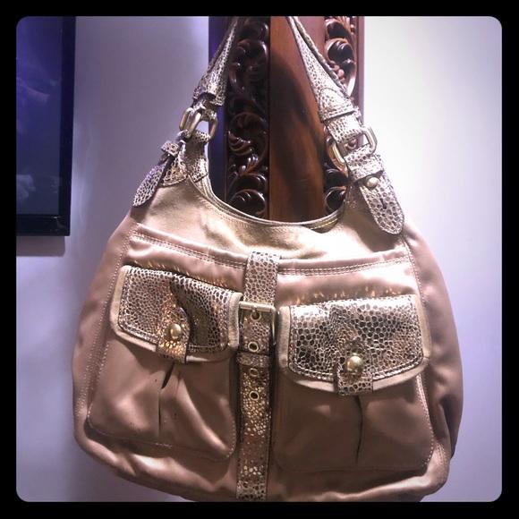 Coach Handbags - Coach gold purse